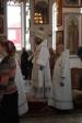 В праздник Рождества Христова Преосвященнейший епископ Николай совершил великую вечерню в Иоанно-Предтеченском соборном храме