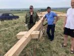 В деревне Тихоновка Мелеузовского района установили поклонный крест