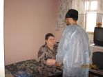 Представители Отдела по церковной благотворительности и социальному служению посетили дом-интернат для пожилых людей и инвалидов