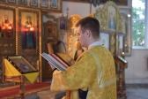 Епископ Николай совершил Божественную Литургию в Иоанно-Предтеченском соборном храме в Кумертау