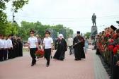 Руководитель отдела по взаимодействию с казачеством Салаватской епархии принял участие в церемонии возложения цветов к памятнику павшим героям в  г.Севастополе