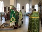 Преосвященнейший епископ Николай совершил утреню с акафистом в Богородице-Казанском храме г. Мелеуза