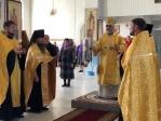 Преосвященнейший епископ Николай совершил всенощное бдение в Богородице-Казанском храме г. Мелеуза