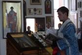 Епископ Николай совершил Литургию в Иоанно-Предтеченском соборном храме г. Кумертау