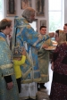 В канун праздника Успения Пресвятой Богородицы Преосвященнейший епископ Николай совершил всенощное бдение в Иоанно-Предтеченском соборном храме в Кумертау