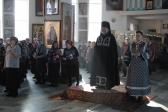 Преосвященнейший епископ Николай совершил чтение покаянного канона в Иоанно-Предтеченском соборном храме г.Кумертау