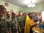 Преосвященнейший епископ Николай совершил всенощное бдение в храме преподобного Моисея Уфимского в п. Алкино-2
