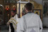 Преосвященнейший епископ Николай совершил утреню с акафистом в Иоанно-Предтеченском соборном храме г.Кумертау