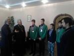 Владыка Николай совершил Божественную литургию в Космо-Дамианском храме с.Кош-Елга