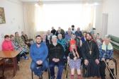 Дети Воскресной школы посетили Дом престарелых