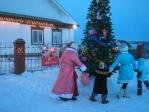 """Встреча детей центра материнства """"Ярослава"""" с Дедушкой Морозом и Снегурочкой"""