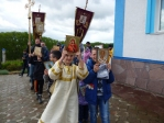Детский Крестный ход прошел в Чишмах