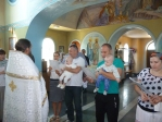 Крещение подопечного малыша из Кризисного центра «Мать и дитя» прошло в Чишмах