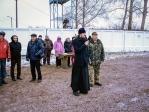 Руководитель Отдела военно-патриотического и спортивного воспитания Салаватской епархии принял участие в открытии соревнований, посвященных «Дню призывника»