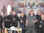 В храме при ФКУ ИК-№4 состоялись Таинства: Исповеди, Елеосвящения (соборование) и Причастия