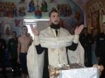 В храме при колонии особого режима ФКУ ИК-№ 4 состоялось Таинство Крещения