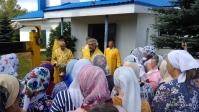 В канун дня памяти апостолов Петра и Павла Преосвященнейши епископ Николай совершил всенощное бдение в храме в Петровском