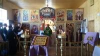 Архипастырское богослужение в с. Енгалышево