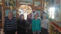 Участие пациентов ПНИ в богослужении на Вознесение