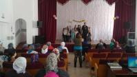 Поздравление в ПНИ страждущих со Светлым Воскресением Христовым