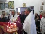 В канун Димитриевской родительской субботы Преосвященнейший епископ Николай совершил парастас в Серафимо-Саровском храме в с.Малый Менеуз