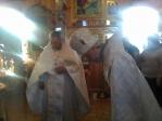 В Димитриевскую родительскую субботу Преосвященнейший епископ Николай совершил Литургию и панихиду в храме во имя муч.Вонифатия в с.Ново-Михайловка