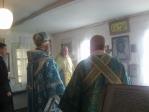 Пресвященнейший епископ Николай совершил всенощное бдение в Михаило-Архангельском молитвенном доме в с.Ик-Вершины
