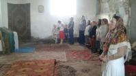 Владыка Николай совершил Божественную литургию в храме Рождества Христова с. Ахлыстино