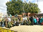 Клирики собора приняли участие в торжественном мероприятии, посвященном дню Воздушно-десантных войск России