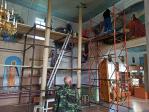 Завершились летние ремонтные работы в Свято-Троицком Храме села Бижбуляк