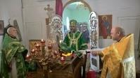 Владыка Николай совершил Божественную Литургию в Сергиевском храме с. Исянгулово