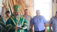 Епископ Николай освятил колокола в с. Шестаево