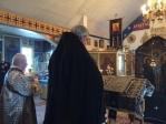 Преосвященнейший Владыка Николай совершил вечерню и чин 2-й Пассии с акафистом Божественным Страстям Христовым в с.Раевский