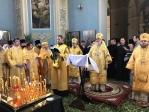 Преосвященнейший епископ Николай принял молитвенное участие в освящении Михаило-Архангельского храма Бирска, которое совершил Глава Башкортостанской митрополии