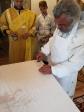 Преосвященнейший епископ Николай совершил чин Великого освящения Никольского храма в Шафраново