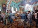 Престольный праздник в храме Почаевской иконы Божией Матери г.Давлеканово
