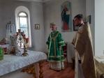 Преосвященнейший епископ Николай совершил Литургию в Свято-Никольском храме с. Шафраново
