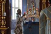 в праздник Рождества Пресвятой Богородицы, епископ Николай совершил Литургию в Успенском кафедральном соборе г. Салавата
