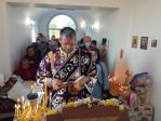 В престольный праздник Кресто-Воздвиженского храма с. Воздвиженка совершил Литургию Преосвященнейший Николай, епископ Салаватский и Кумертауский