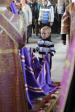 В день празднования Воздвижения Креста Господня Преосвященнейший епископ Николай совершил утреню с чтением акафиста Животворящкму Кресту Господню в Успенском кафедральном соборе