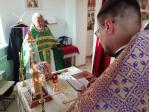 Преосвященнейший епископ Николай совершил Литургию в с. Малый Менеуз