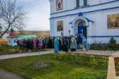 В праздник Покрова Пресвятой Богородицы Преосвященнейший епископ Николай совершил Литургию в Покровском мужском монастыре с.Дедово