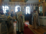 В праздник Иверской иконы Божией Матери Преосвященнейший епископ Николай совершил Литургию в Покрово-Эннатском мужском монастыре с.Дедово