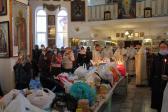 В Димитриевскую родительскую субботу Преосвященнейший Владыка Николай совершил Литургию в соборном храме Иоанна Предтечи г. Кумертау