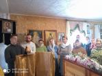 В день памяти праведного Иоанна Кронштадтского Преосвященнейший епископ Николай совершил Литургию в храме микрорайона Перегонный города Ишимбай