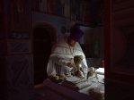 В Рождественский сочельник Преосвященнейший епископ Николай совершил Литургию в Успенском кафедральном соборе города Салават
