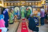 В день памяти блаженной Ксении Петербургской Преосвященнейший епископ Николай совершил Литургию в храме с. Новоселка