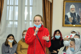 Преосвященнейший епископ Николай провел встречу со светской молодежью в Духовно-просветительском центре Успенского кафедрального собора города Салават