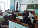 Протоиерей Игорь Смирнов встретился со школьниками с. Маячный в день Сретения Господня