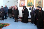 В субботу второй седмицы Великого поста Преосвященнейший епископ Николай совершил Литургию в Богородичном храме села Новофедоровка